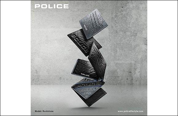 Police Rockstone Wallet and Card Case