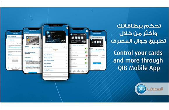 QIB Improves Customer Experience with Enhanced Card-Related Features on its Award-Winning Mobile App
