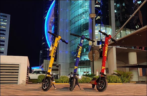 Fenix, a Ground-breaking Licensed E-Scooter Transport Sharing Service to Officially Launch in Qatar