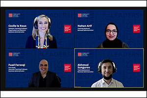 CMU-Q Shares Expertise with Qatar Community in New Virtual Lecture Series