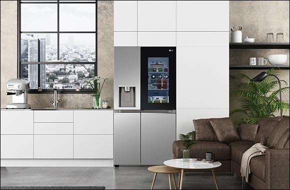 New LG Instaview Refrigerators Demonstrate Hygiene Innovation at CES 2021