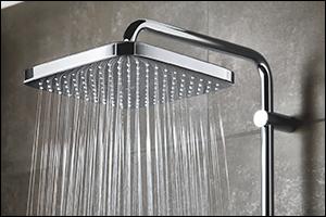 A Warm Summer Rain in Winter: The New Head Shower GROHE Tempesta 250