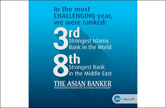 QIB Ranks 'Third Strongest Islamic Bank in the World' and 'Eighth Strongest Bank in the Middle East' in The Asian Banker's 2020 Rankings for the 500 Strongest Banks