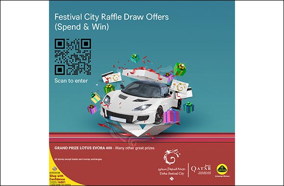 Doha Festival City Launches First-Ever Digital Raffle Draw in Partnership with QNTC
