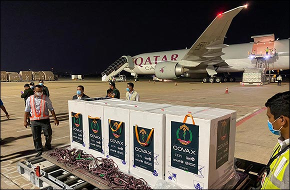 Qatar Airways Cargo's Milestone Vaccine Transport Demonstrates its Care and Commitment to People