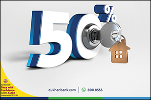 Dukhan Bank Offers 50% Off on Home Finance Profit Rate