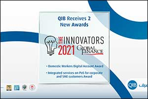 QIB Recognized for Its Outstanding Innovations at the Global Finance 2021 Innovators Awards
