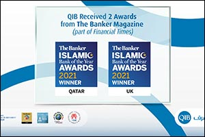 QIB Awarded Islamic Bank of the Year in Qatar and the UK