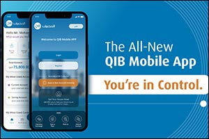 QIB Launches New Generation of its Top and Most Rated Mobile Banking App in Qatar