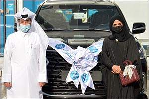 QIB Announces the Final Lexus LX 570 Winner Part of Exclusive Salary Transfer Offer