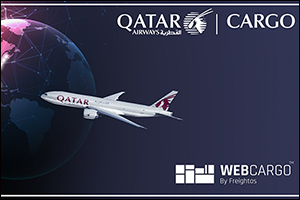 Qatar Airways Cargo Rolls Out WebCargo by Freightos throughout the United States of America