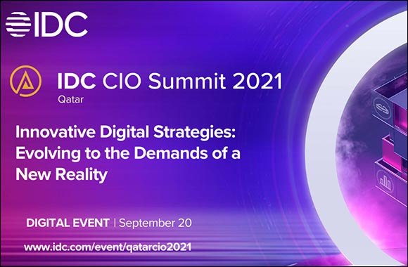IDC to Provide Expert Guidance on Building a Digital-Resilient Future Enterprise at Virtual CIO Summit in Qatar