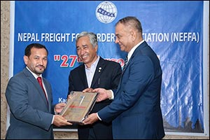 Qatar Airways Cargo Receives an Award for the Highest Cargo Uplift from Nepal