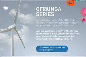 QF to Host Education-focused Virtual Events at United Nations General Assembly and Global Goals Week