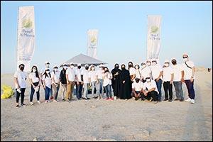 "Al Meera Hosts Beach Cleanup at �Jazirat Bin Ghannam"" in Al Khor on World Cleanup Day 2021"