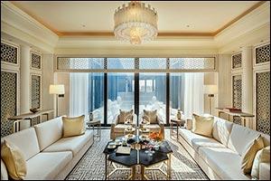 The Royal Suite Inspired by Qatari Heritage at Mandarin Oriental, Doha