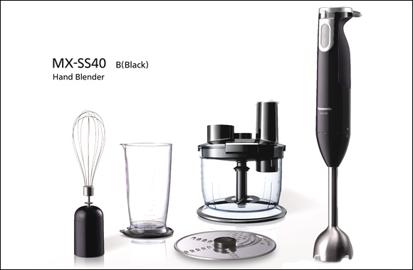 Panasonic Launches the new 4-in-1 Hand Blender MX-SS40 with High Blending Performance